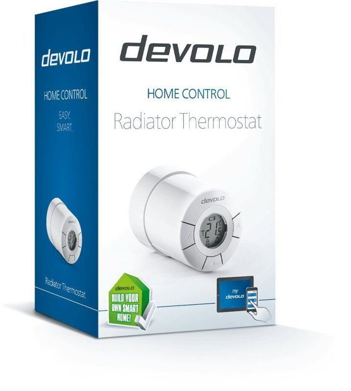 Devolo Home Control Radiator Thermostat 9502 - White