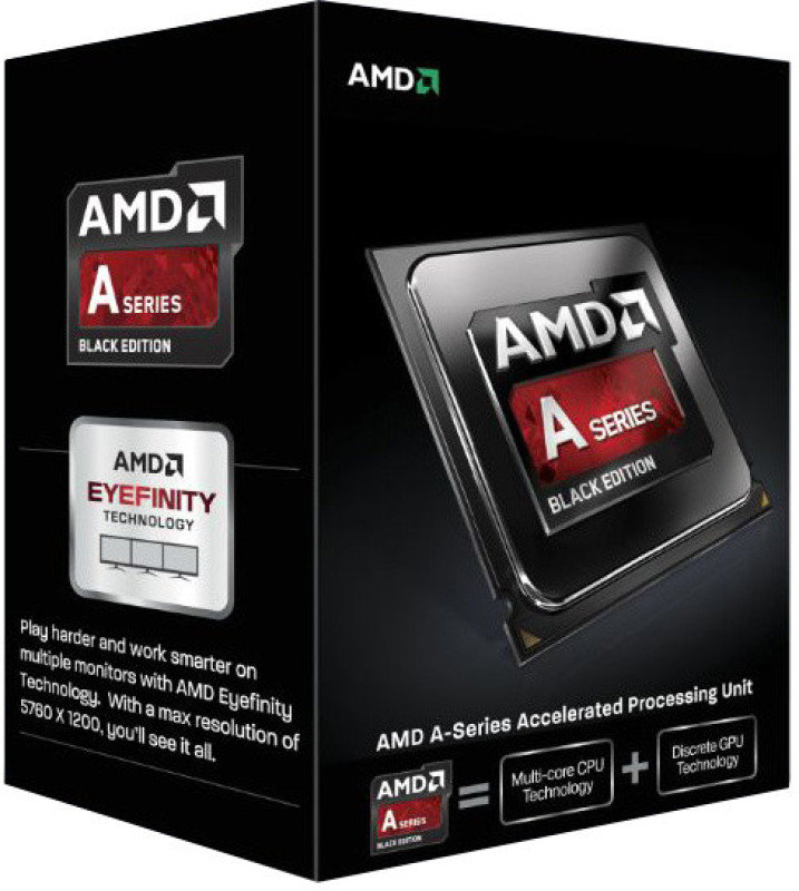 AMD A10-7870K 4.1 GHz Socket FM2+ 4MB Cache Retail Boxed Processor