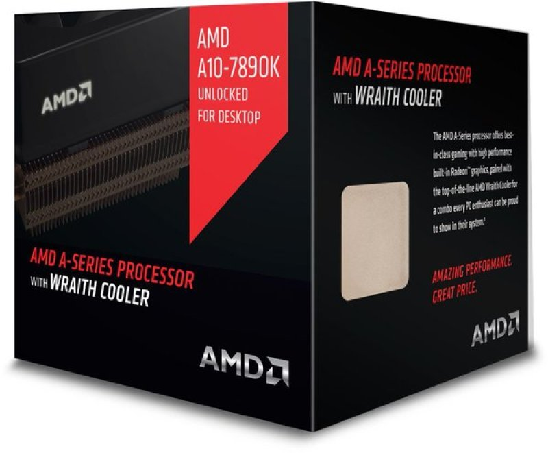 AMD A10-7890K 4.3 GHz Socket FM2+ 4MB Cache Retail Boxed Processor