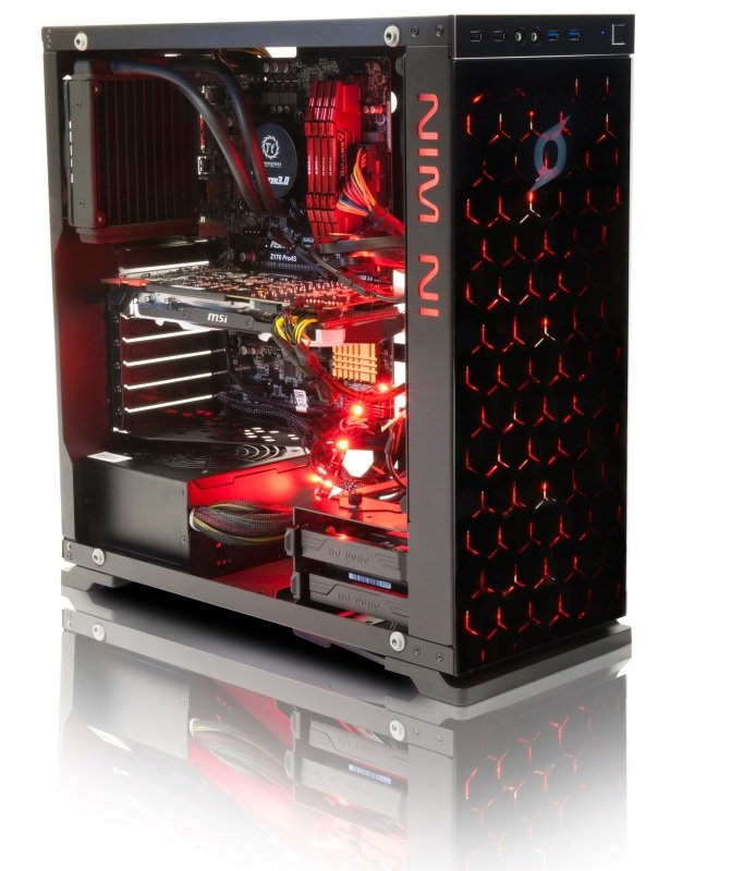 StormForce Inferno VR Gaming PC, Intel Core i7-6700K 4GHz, 16GB RAM, 3TB HDD, 256GB SSD, No-DVD, NVIDIA GTX 1080, No Operating System
