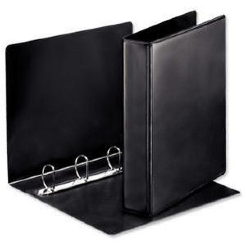 Esselte A4 25mm Press D-Ring binder (Black)