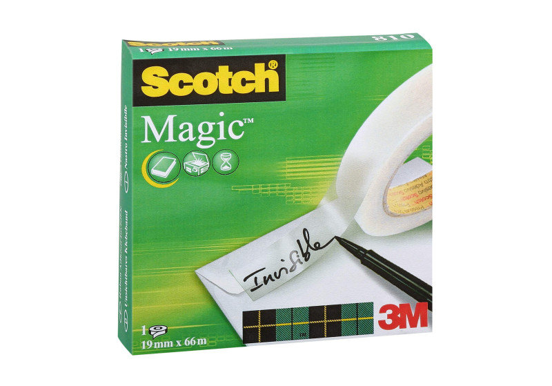 SCOTCH 810 MAGIC TAPE 19MMX66M