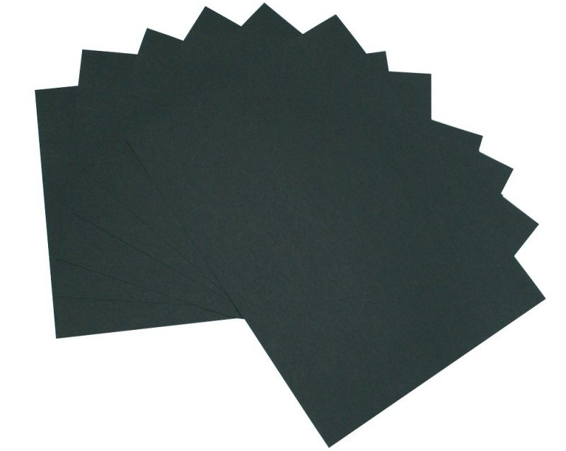 CARD DOUBLE SIDED A3 20SHEET BLK BCA320