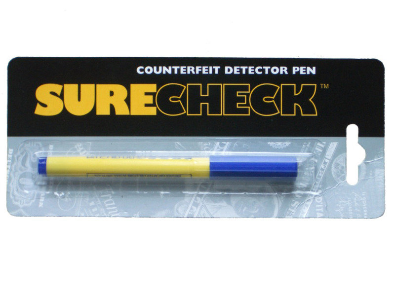 Securikey Money Check Detector Pen - 10 Pack