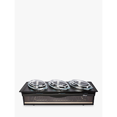 Hostess H0392BL Black Side Server