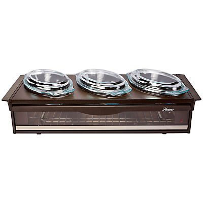 Hostess H0392B Brown Side Server