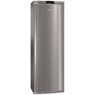 AEG A72710GNX0 Tall Freezer, A++ Energy Rating, 60cm Wide, Stainless Steel