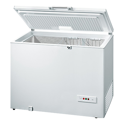 Bosch GCM28AW30G Chest Freezer, A++ Energy Rating, 118cm Wide, White