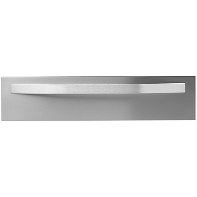 John Lewis JLDR14 Warming Drawer, Stainless Steel