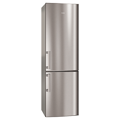 AEG S53520CTX2 Fridge Freezer, A++ Energy Rating, 60cm Wide, Stainless Steel