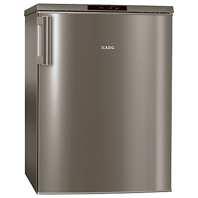 AEG A71101TSX0 Freezer, A++ Energy Rating, 60cm Wide, Stainless Steel