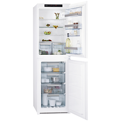 AEG SCN71800S1 Integrated Fridge Freezer, A+ Energy Rating, 54cm Wide