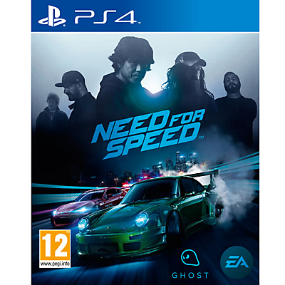 Need For Speed, PS4