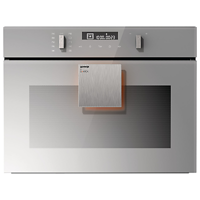 Gorenje by Starck BCM547ST Built-In Combination Microwave Oven with Grill