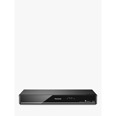 Panasonic DMR-PWT550EB Smart 3D 4K Upscaling Blu-ray Disc/DVD Player with HDD Recorder & Freeview Play
