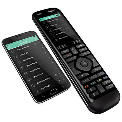 "Logitech Smart Home Harmony Elite Pack, Hub & 950 Remote With 2.4"" Colour Touchscreen"