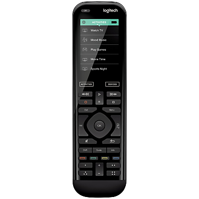 "Logitech Smart Home Harmony 950 Universal Remote Control With 2.4"" Colour Touchscreen"
