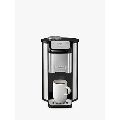 Cuisinart DGB1U One Cup Grind & Brew Coffee Machine, Stainless Steel