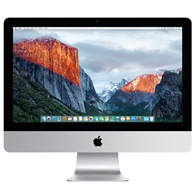"Apple iMac with Retina 4K display MK452B/A All-in-One Desktop Computer, 3.1GHz Quad-core Intel Core i5, 8GB RAM, 1TB, 21.5"", Silver"