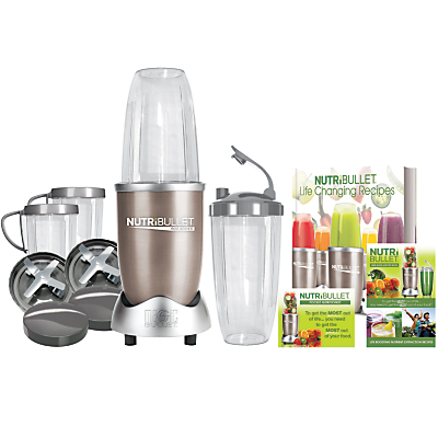NutriBullet 15 Piece Pro 900 Series + Life Changing Recipes Book