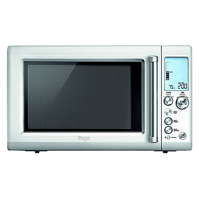 Sage by Heston Blumenthal Quick Touch Microwave Oven, Silver