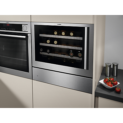 AEG KD91404M Warming Drawer, Stainless Steel