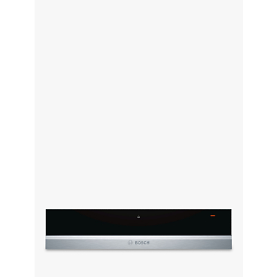 Bosch BIC630NS1B Warming Drawer, Brushed Steel