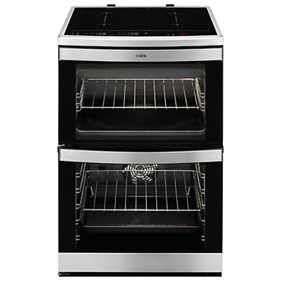 AEG 49176IW-M Electric Cooker, Stainless Steel