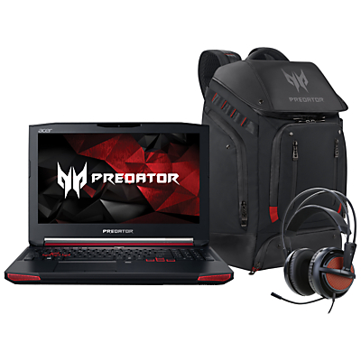 Acer Predator G9-591 Laptop with Predator Backpack and Predator Gaming Headset
