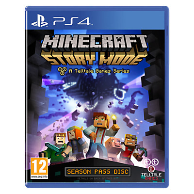 Minecraft: Story Mode, PS4