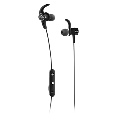 Adidas adistar Bluetooth In-Ear Sport Headphones With Sound Isolation & ControlTalk Controls, Black