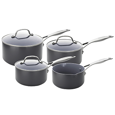 GreenPan Venice Pro Ceramic Non-Stick 4-Piece Pan Set