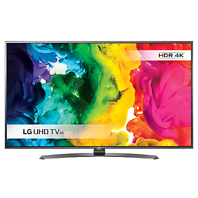 "LG 55UH661V LED HDR 4K Ultra HD Smart TV, 55"" With Freeview HD/freesat HD & Metallic Design"