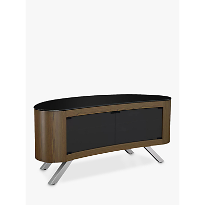 AVF Affinity 1150 Bay Curved TV Stand For TVs Up To 55""