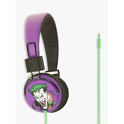 Kondor Batman The Joker On-Ear Headphones