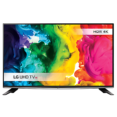 "LG 50UH630V LED HDR 4K Ultra HD Smart TV, 50"" With Freeview HD/Freesat HD, ULTRA Surround Sound & SUPER Slim Design"