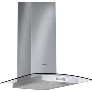 Bosch DWA094W51B Stainless Steel Chimney Hood with Glass Canopy (W) 900mm