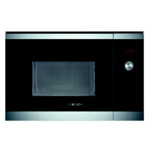 Bosch Brushed Steel 900W Built In Microwave Oven