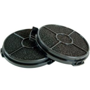 Black Cooker Hood Filters (W)129mm (D)129mm