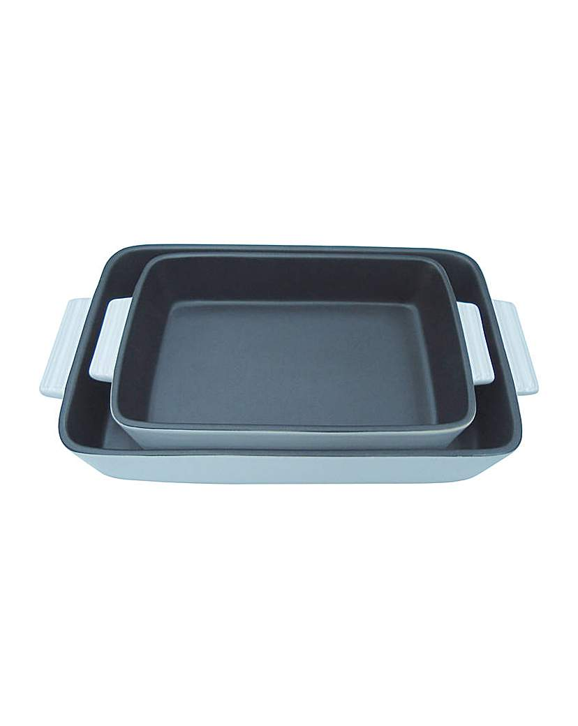 2 Piece Oven to Tablewear Dish Set