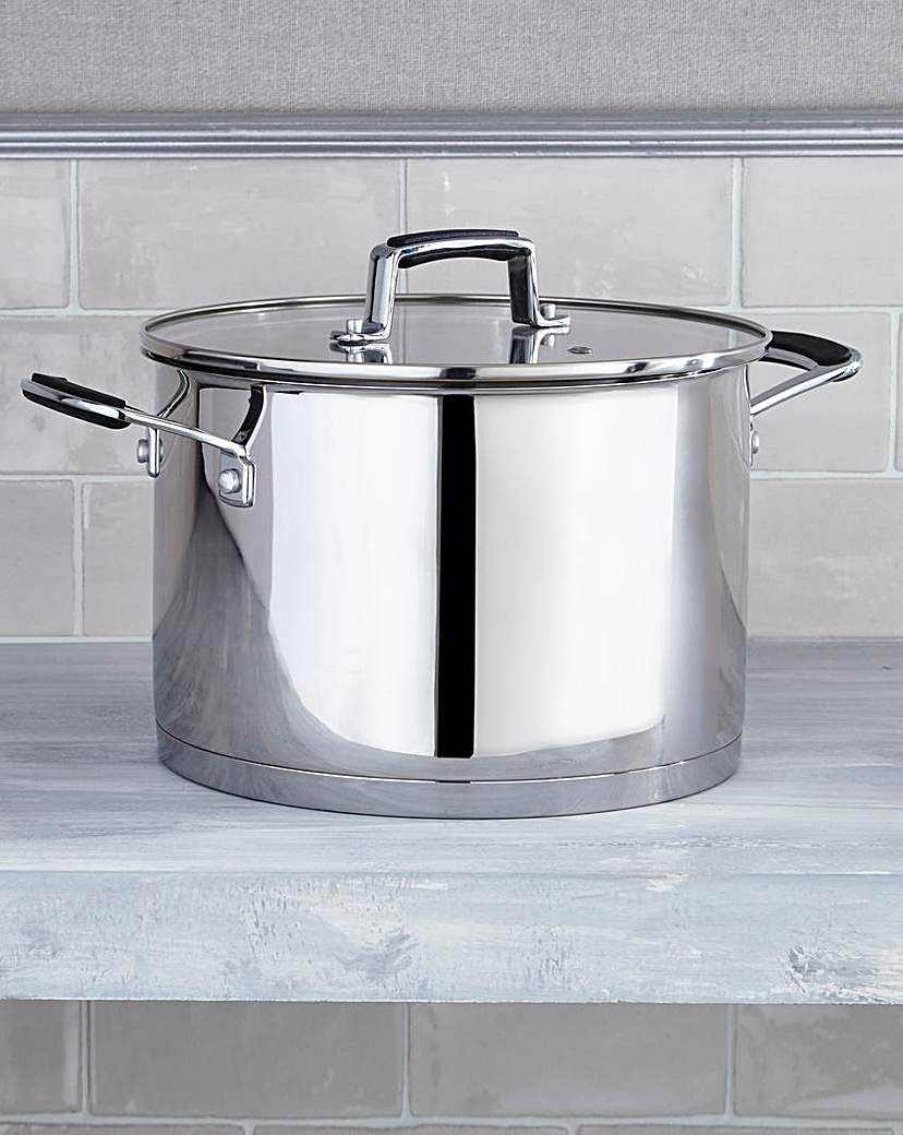 Bistro Stainless Steel 24cm Stock Pot
