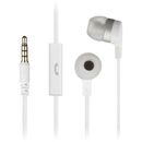 KitSound Entry Mini Earphones With In-Line Mic - White