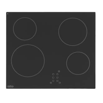 Belling CH60TX Ceramic Hob Black 520 x 590mm