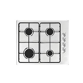 GHFFX60SS1 Gas Hob Stainless Steel 590 x 500mm (17171)
