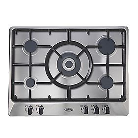 Belling GHU70GC MK2 Gas Hob Stainless Steel 510 x 680mm (1267P)