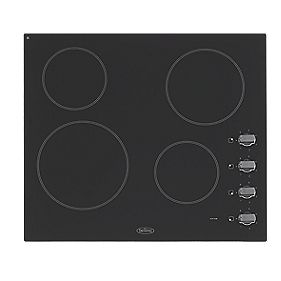 Belling BEL CH60RX Electric Ceramic Hob Black 520 x 590mm (4295F)