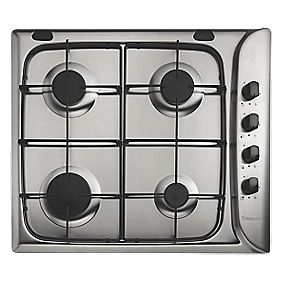 Hotpoint G640 SX Gas Hob Stainless Steel 510 x 580mm (62792)