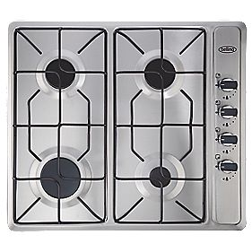 Belling 444449465 Gas Hob Stainless Steel 40 x 580mm (9860P)
