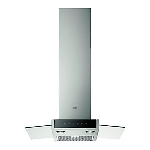AEG 70cm Stainless Steel and Glass Chimneyhood