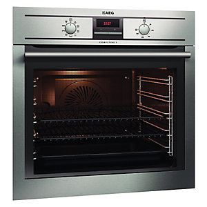 AEG BE3003001M Multifunction Double Oven Stainless Steel